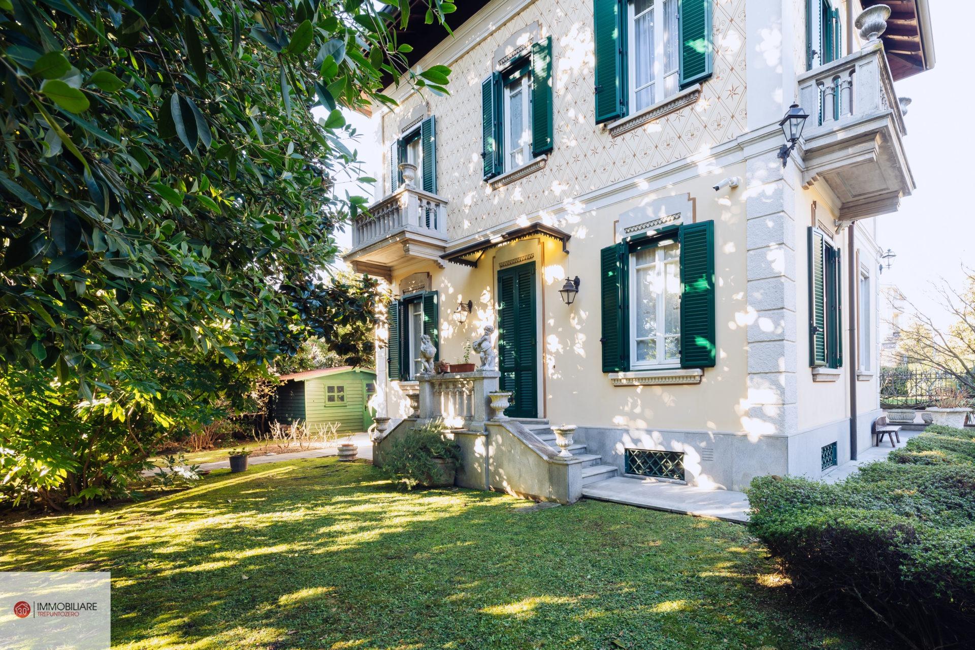 Cassano Magnago: affascinante villa d' epoca perfettamente ristrutturata